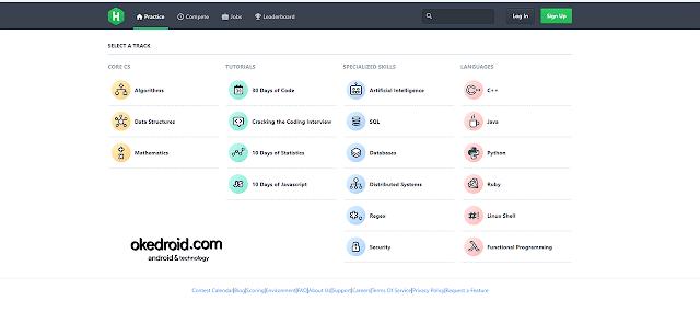 Situs Web HackerRank