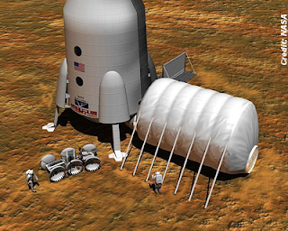 Mars Colonists Must 'Live Off the Land'