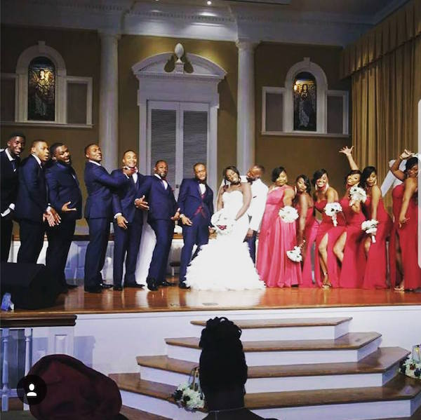 Image result for Samson Siasia's Daughter, Sanita Weds