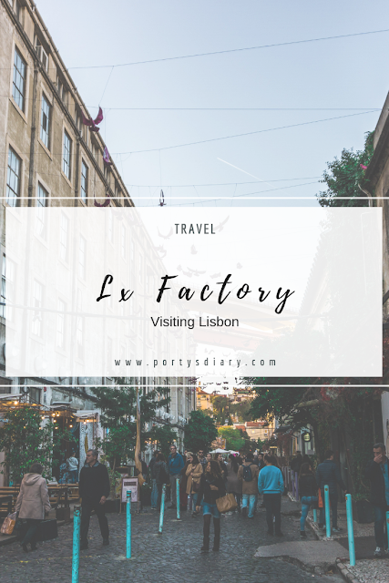 Travel - Visiting Lx Factory in Lisbon, Portugal.