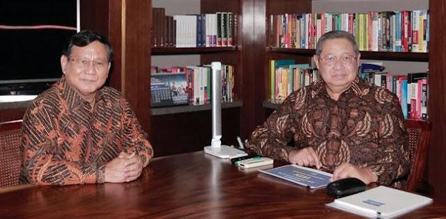 Gerindra: Pertemuan Prabowo-SBY Di Kertanegara Bahas Cawapres
