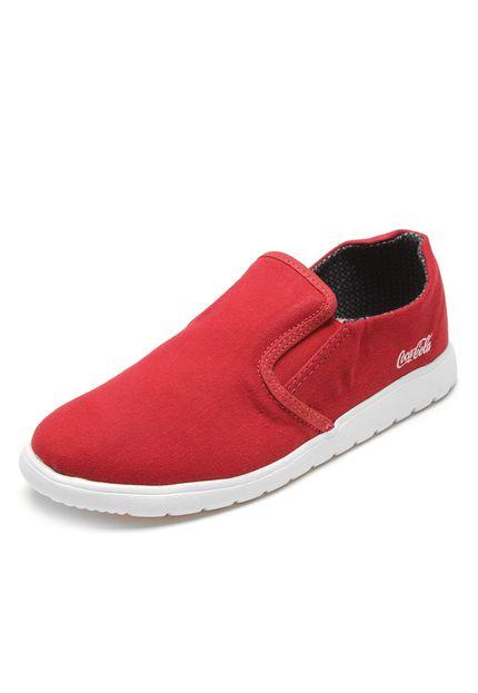 Tênis Shoes Elástico Vermelho