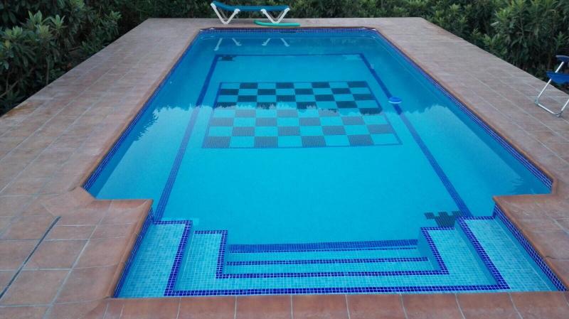 Xadrez ponteareas for Construir escalera piscina
