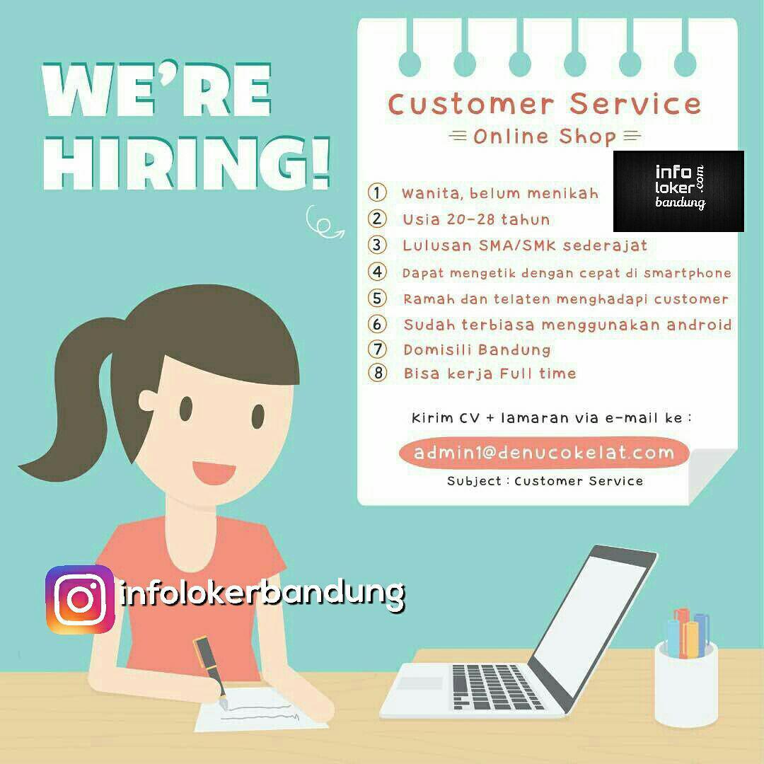 Lowongan Kerja Denu Cokelat Bandung Juni 2017 - Info