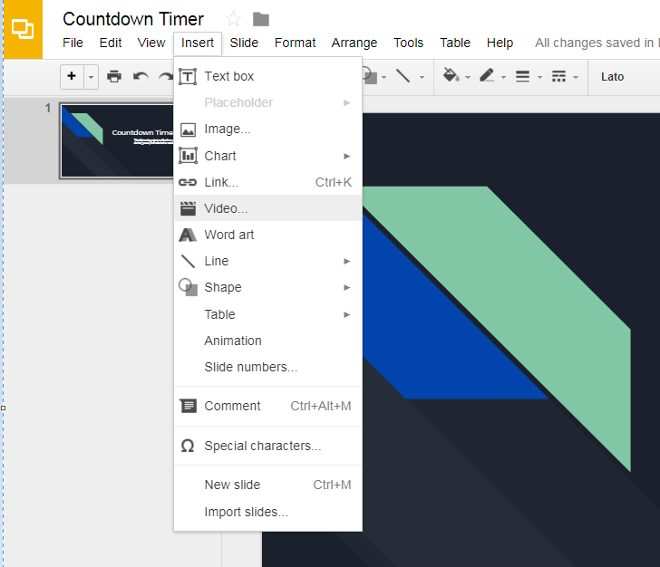 Know Your Why!: Countdown Timers in Google Slides