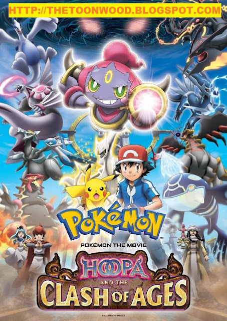 Pokémon Movie 19: Hoopa and the Clash Of Ages(2015) hindi dubbed