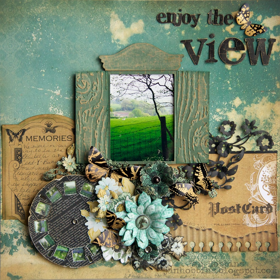 Sizzix Die Cutting Inspiration And Tips Enjoy The View Layout