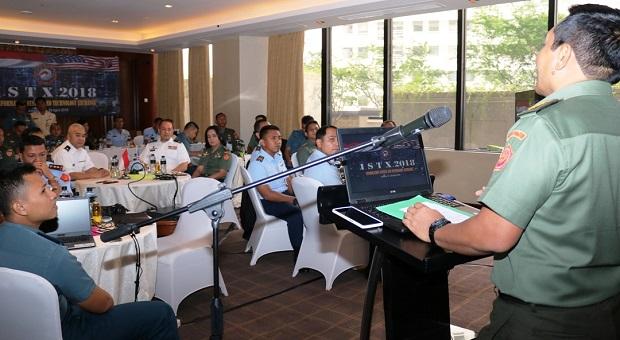Pembukaan Latihan ISTX Antara TNI Dengan AB Amerika