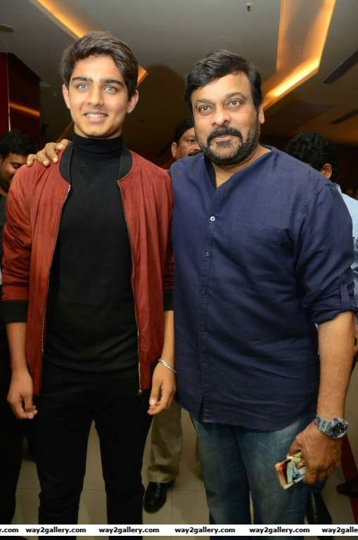 Chiranjeevi graced the special screening of Telugu film Nirmala Convent