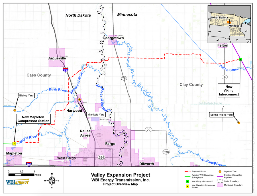 The Million Dollar Way (The Bakken Oil Blog): MDU's Valley