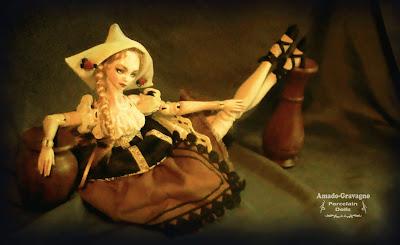 bjd argentina porcelain ball jointed art doll bjd ooak arte escultura