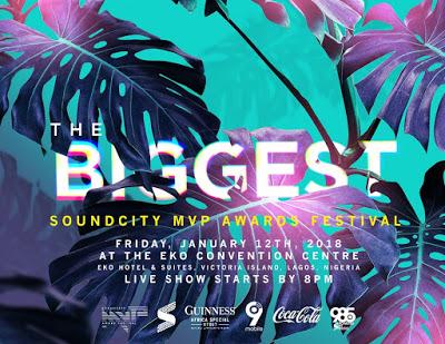 #SoundcityMVP Awards Festival Unveil Nominees & Announce Date