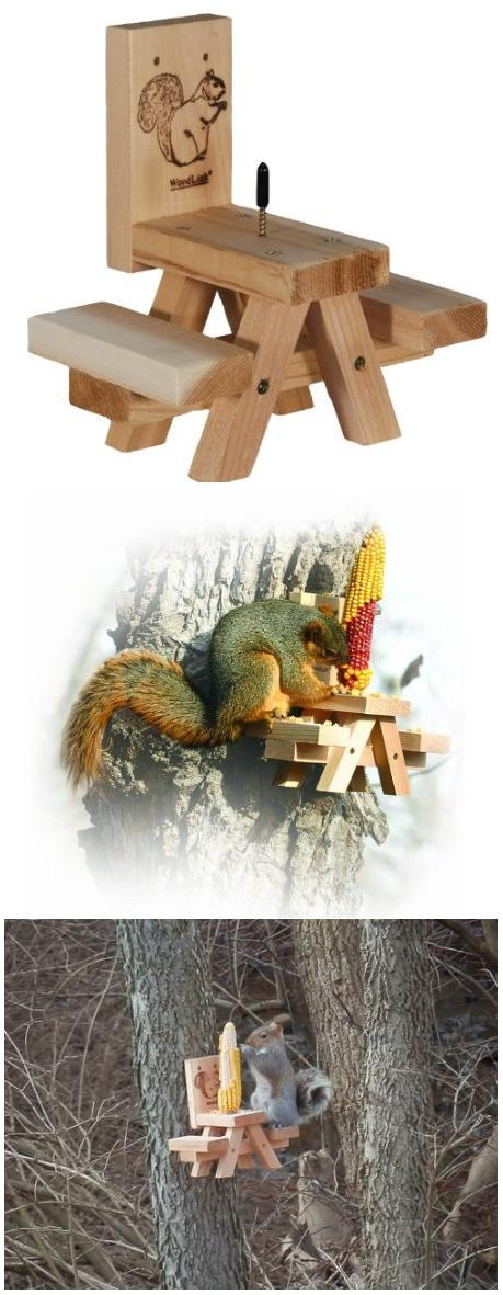 Best Squirrel Feeder : Woodlink Picnic Table