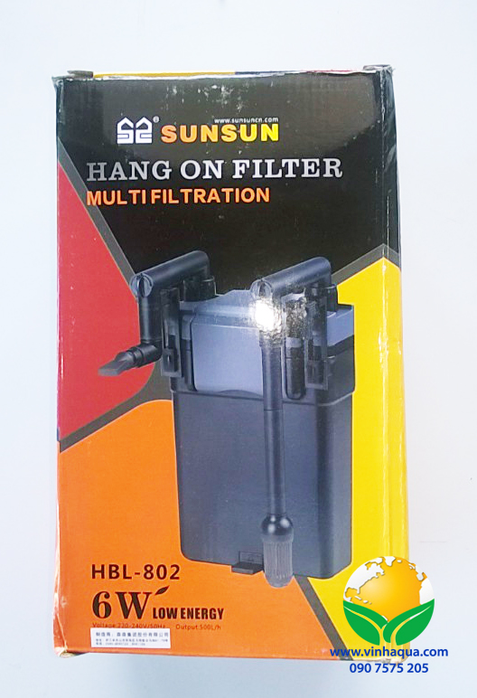 Lọc treo thủy sinh Sunsun 802