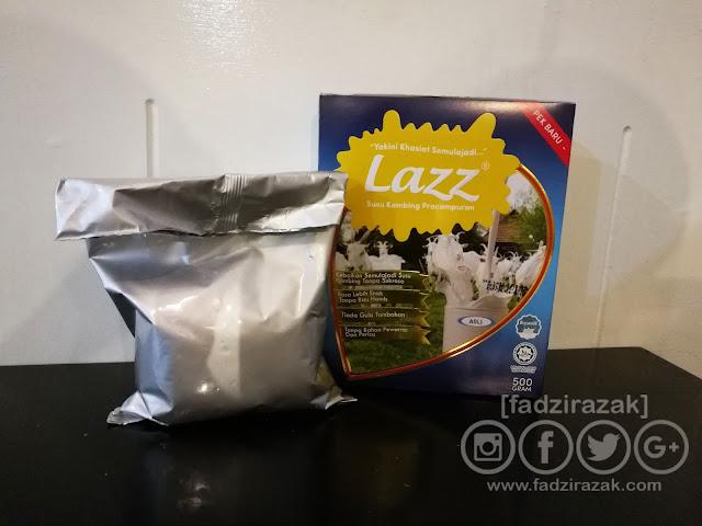 Lazz Susu Kambing Kurma Madu