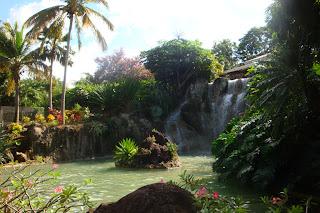 Jardin Botanique de Deshaies chute d'eau - Guadeloupe