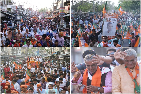krishan-pal-gurjar-road-show-in-hodal-palwal-district-loksabha-election
