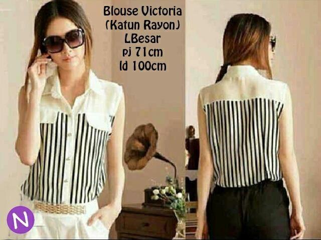 Jual Blouse Victoria Blouse - 12805