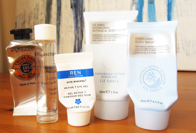 A picture of 5 Mini Reviews: L'Occitane, Dr. Hauschka, REN & Liz Earle