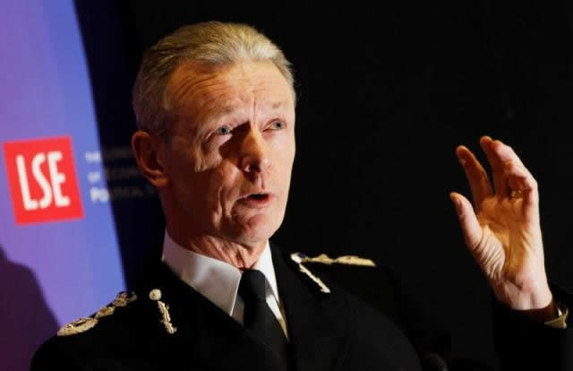London police chief warns terror attack a case of 'when, not if'