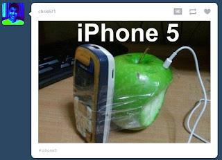 Imagen  chistosa iPhone 5