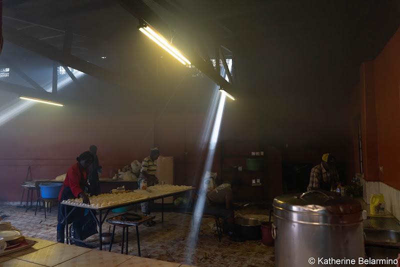 Uhuru Academy Painted Kitchen Volunteering in Kenya with Freedom Global