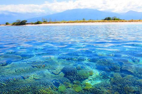 Objek wisata gili lampu Lombok