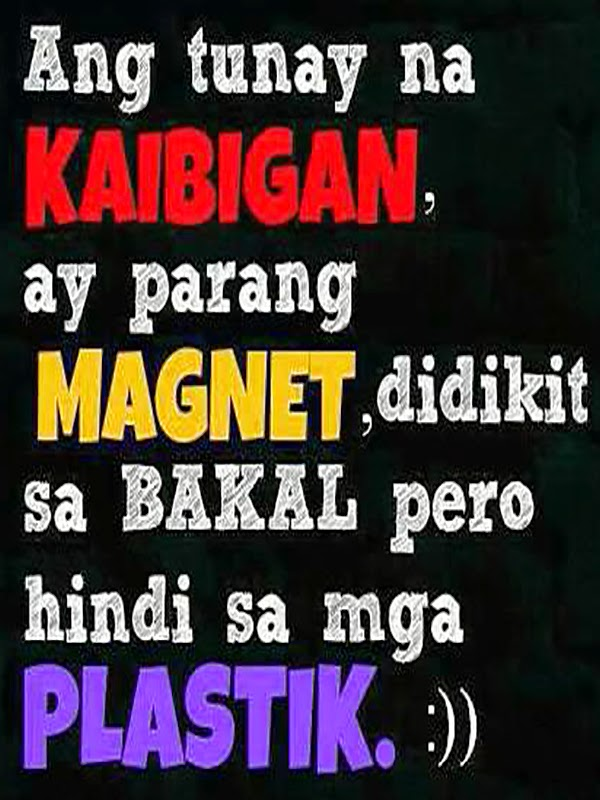 Quotes Republic: Kaibigan kong magnet