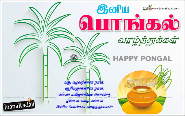 Happy Pongal Festival 2019 Wishes