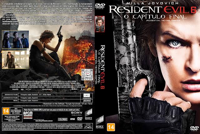 Capa DVD Resident Evil 6 O Capítulo Final [Exclusiva]