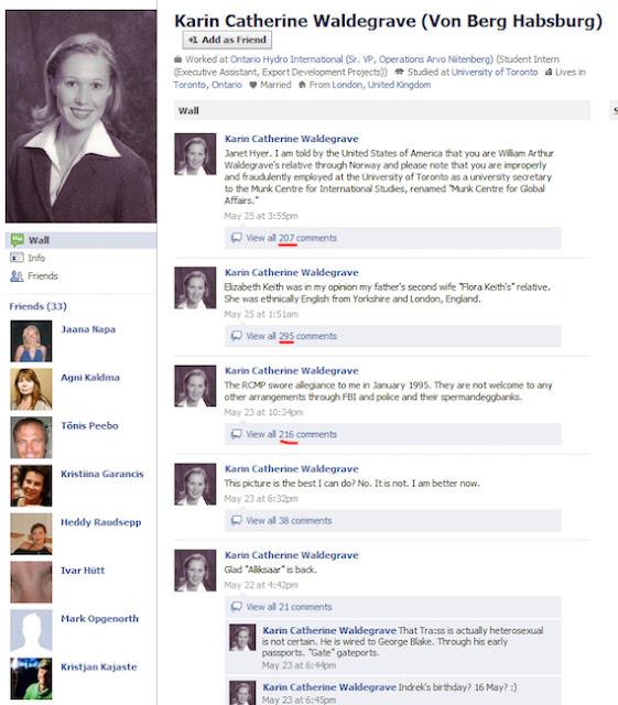 Waldegrave1 - O Misterioso Perfil do Facebook