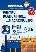 Dedeman deschide pe 21 decembrie, la Bacau, magazinul cu numarul 45
