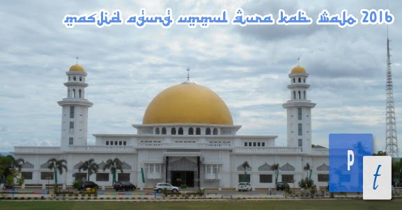 Kesederhanaan Masjid Agung Ummul Qura Kab. Wajo
