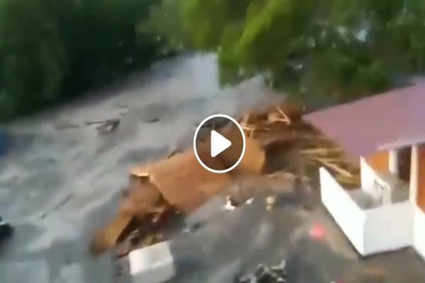 foto video akibat bencana tsunami di donggala palu