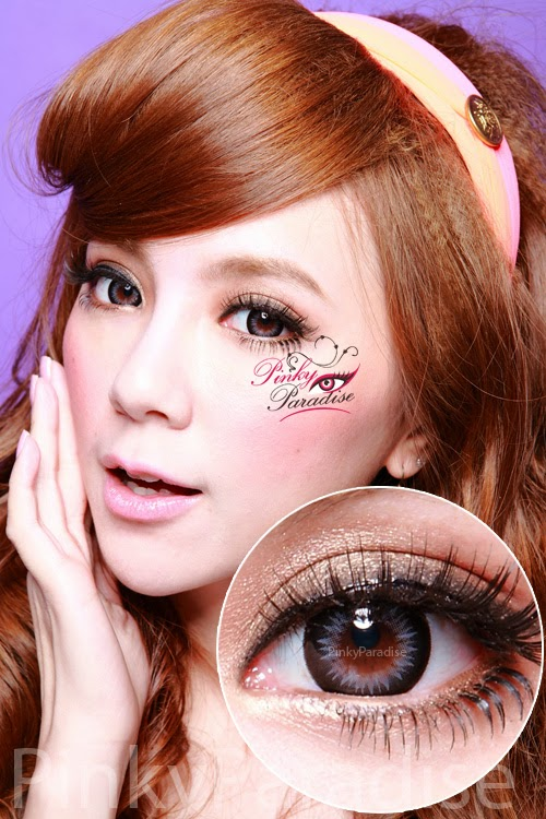 GEO Xtra WBS 205 Bella Grey Circle Lenses (Colored Contacts)