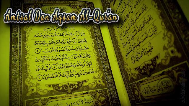 Makalah Amtsal Dan Aqsam Al-Qur'an