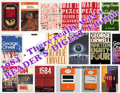 1984 - George Orwell. Covers displayed by a Google search