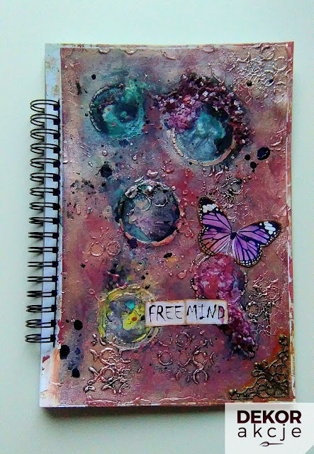 art journal pink