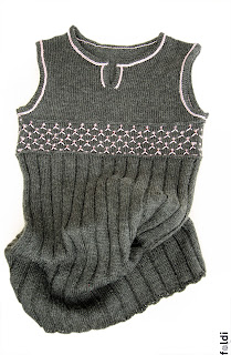 knitted girl tunic west