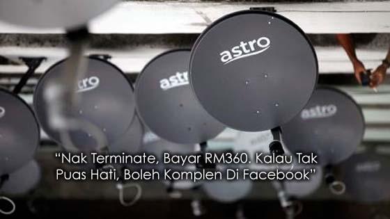 Lagi Luahan Pelanggan Rasa Dianiaya Oleh Astro