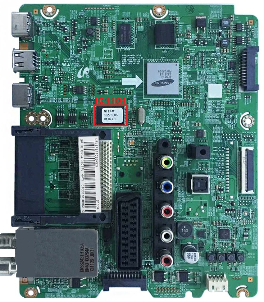 MEMORY DUMP TV: SAMSUNG UE55F6100AW