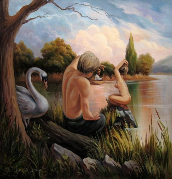 Optical Illusions By Oleg Shuplyak-3