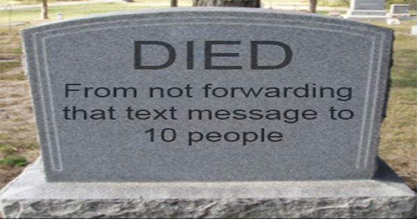 funny chain messages to send to friends