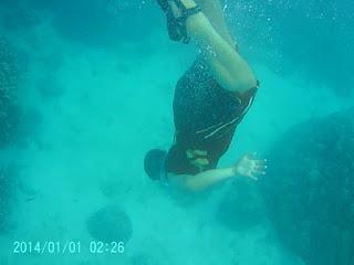 Snorkling di Badul, Menyelam Kebawah Laut