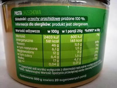 sklep zdrowa żywność, pasta orzechowa, 100% orzechów,