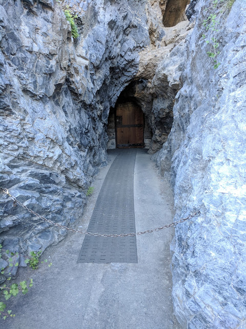 Timpanogas or Timp Cave Entrance in American Fork Utah