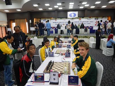 World U16 Teams Round 8 disaster Australia v South Africa 0.5-3.5