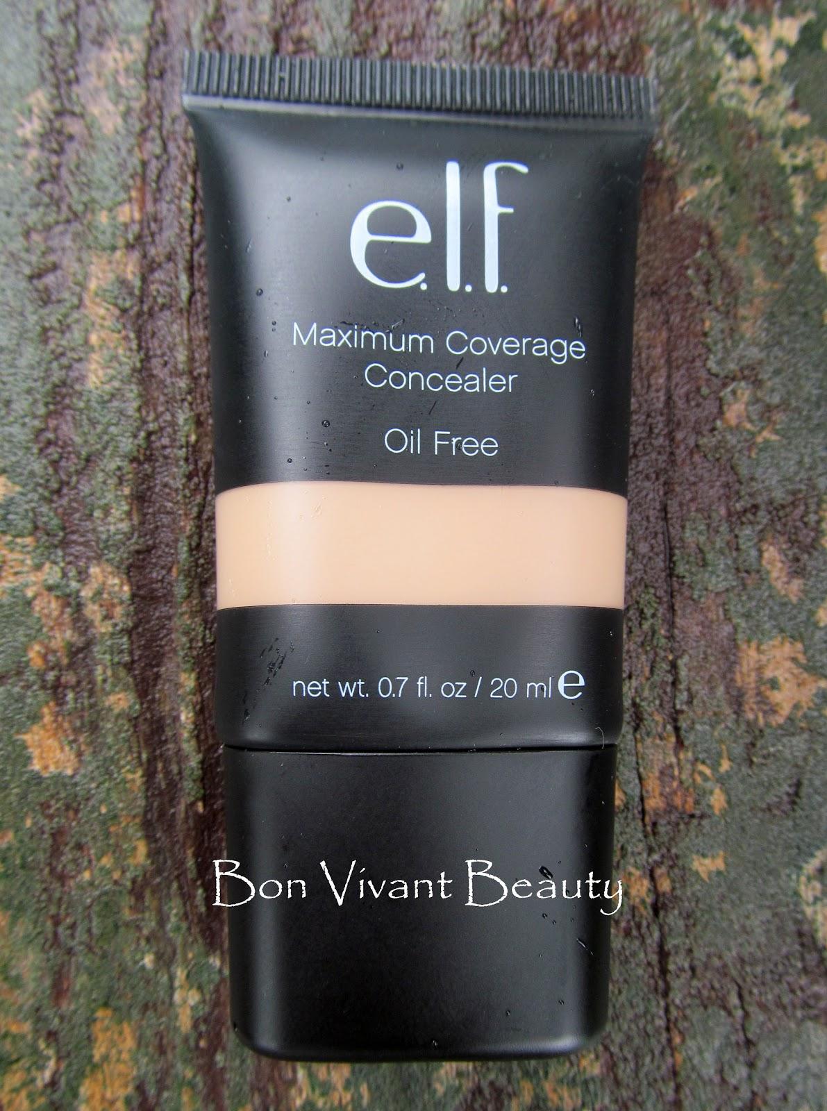 ELF Maximum Coverage Concealer- Nude Review Indian makeup blog