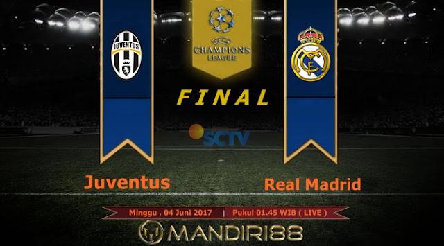Prediksi Bola : Juventus Vs Real Madrid , Minggu 04 Juni Pukul 01.45 WIB @ SCTV