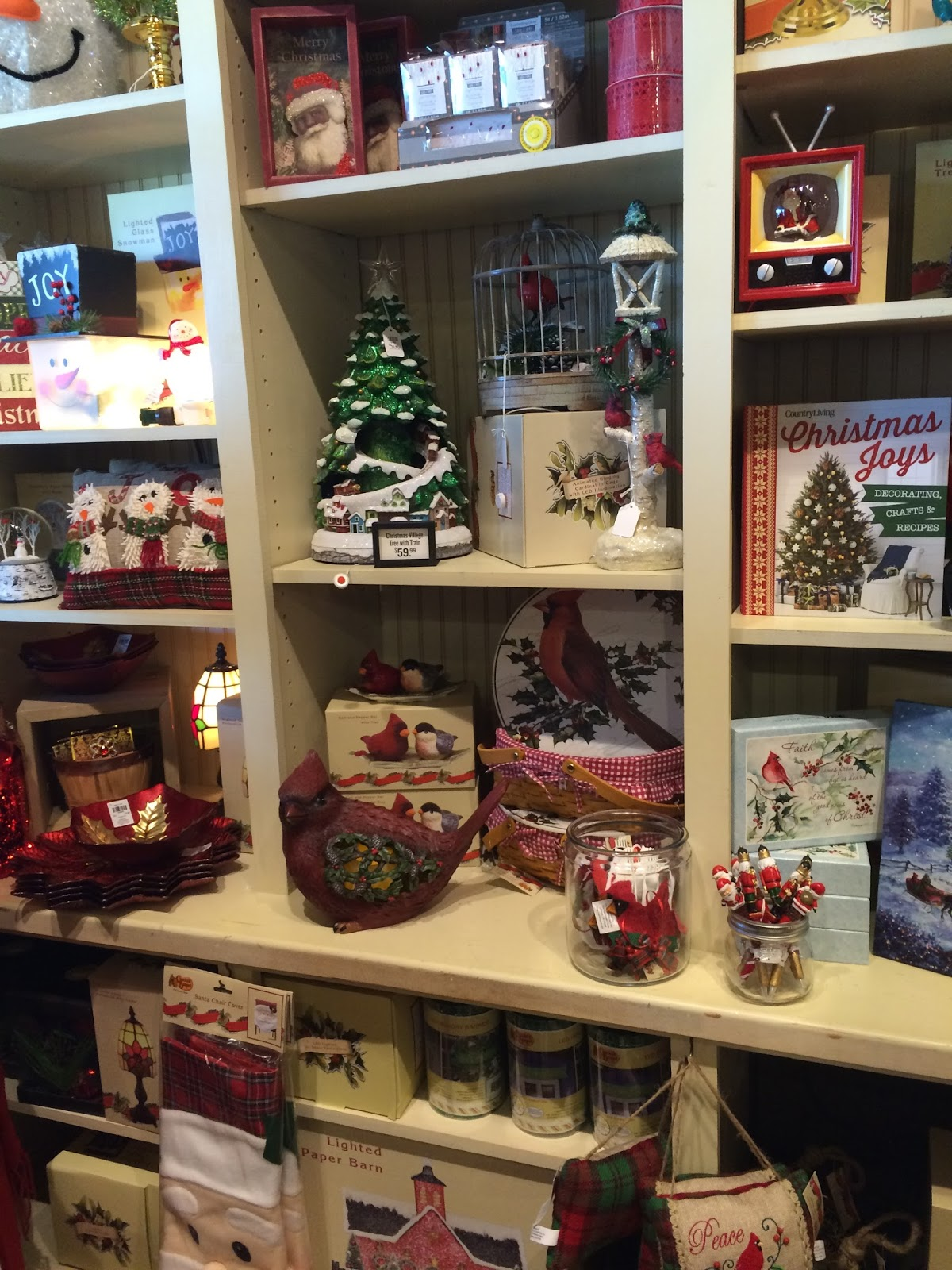 a little bit of everything on these shelves - Cracker Barrel Christmas Eve Hours
